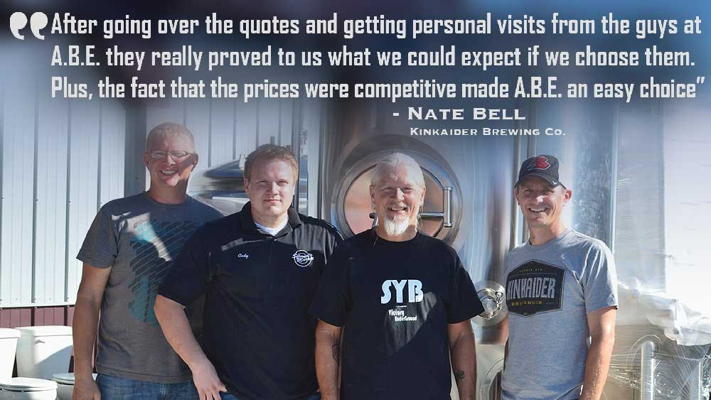 Customer References Brewhouse sold by American Beer Equipment