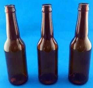 330ml brown glass beer bottles Beer bottle sold by Luscan Group
