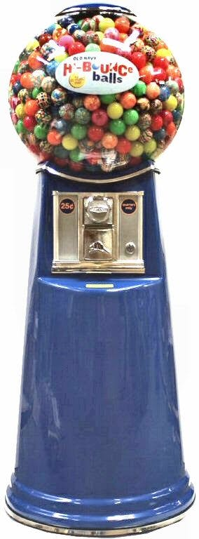 Little Mama Gumball Machine Vending machine sold by CandyMachines.com