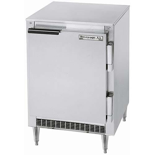 "Beverage Air ( UCF20 ) - 20"" Shallow Depth Undercounter Freezer Commercial freezer sold by Food Service Warehouse"