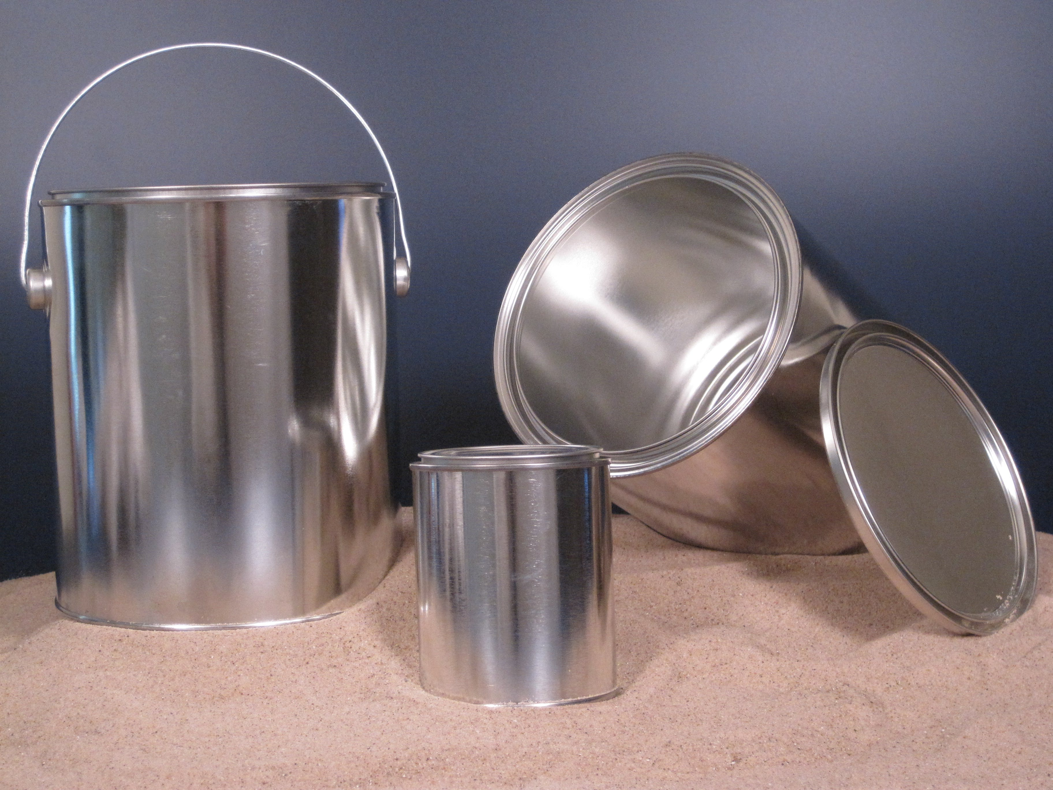 Metal Cans Aluminum can sold by Land & Sea Packaging