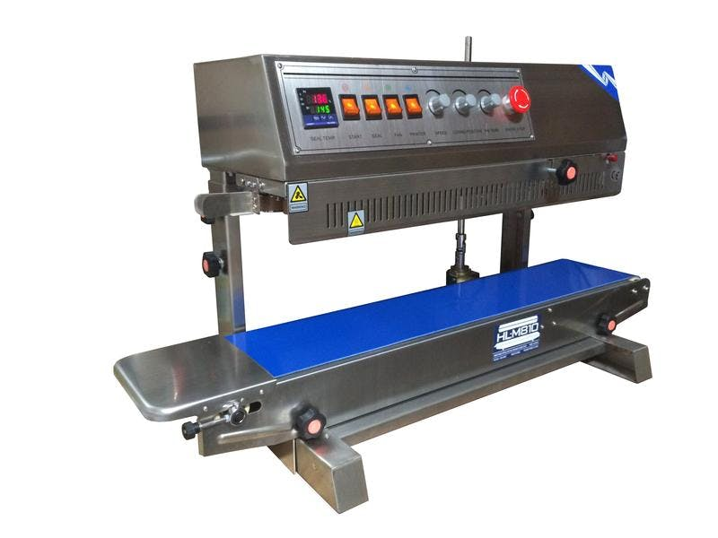 HL-M810II Vertical Dry Ink Coding Band Sealer Bag sealer sold by Sealer Sales