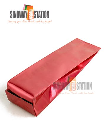 Foil Side Gusseted Pouch Bag sold by sinowaypouchstation.com,LLC