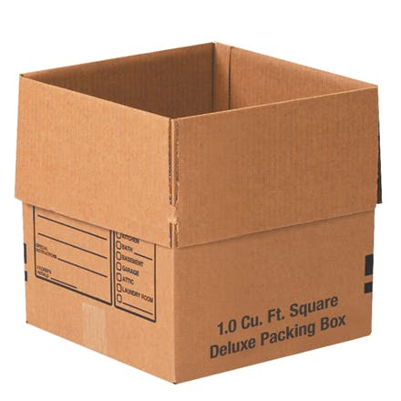 Deluxe Kraft Packing Boxes Kraft packaging sold by Ameripak, Inc.