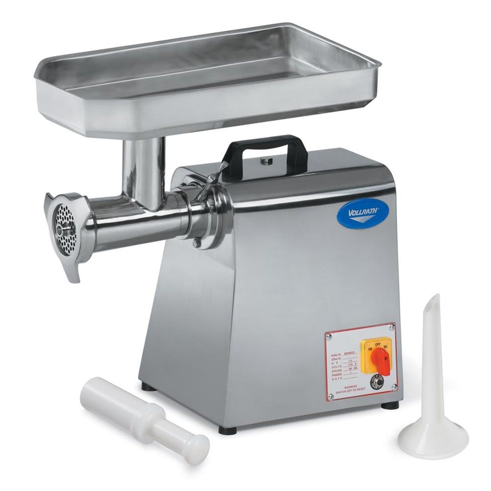 Vollrath 40744 Electric Meat Grinder, #22 Hub, 110v Meat grinder sold by Mission Restaurant Supply