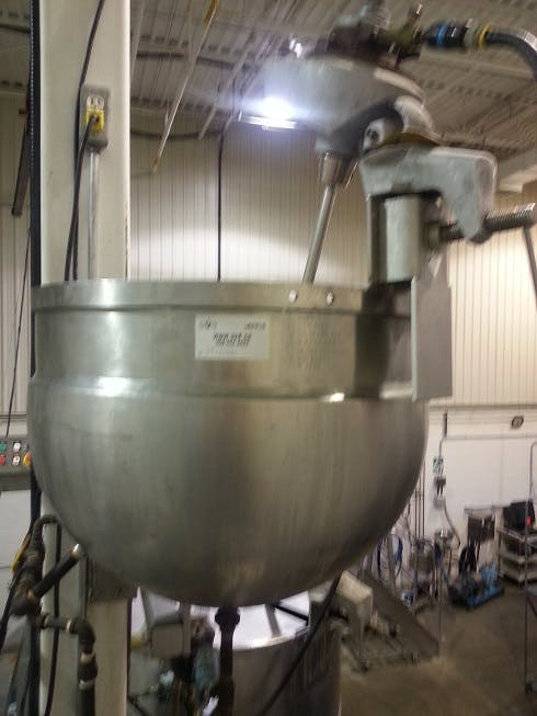 Jacketed tank - 70 litres (18 gallons) Food tank sold by Aevos Equipment