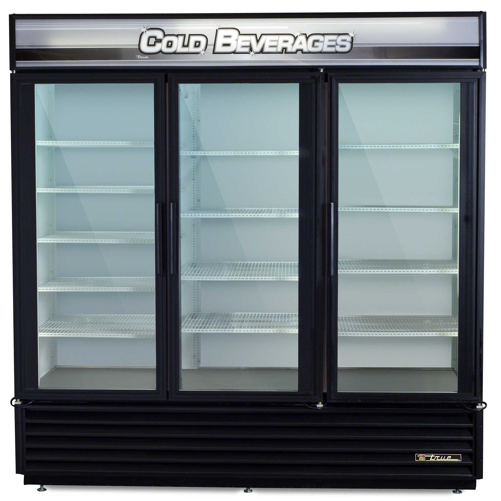 "True - GDM-72 79"" Swing Glass Door Merchandiser Refrigerator - sold by Food Service Warehouse"