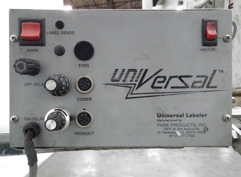 Used Universal Labeling L15 Wipe-on Pressure Sensitive - sold by Sigma Packaging