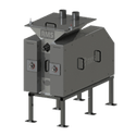 9x6 Single Pair Malt Mill - Grain roller mill sold by Roller Mill Services