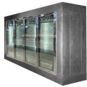 Reach-in Cooler - 8' Height x 11' Front x 8' Side