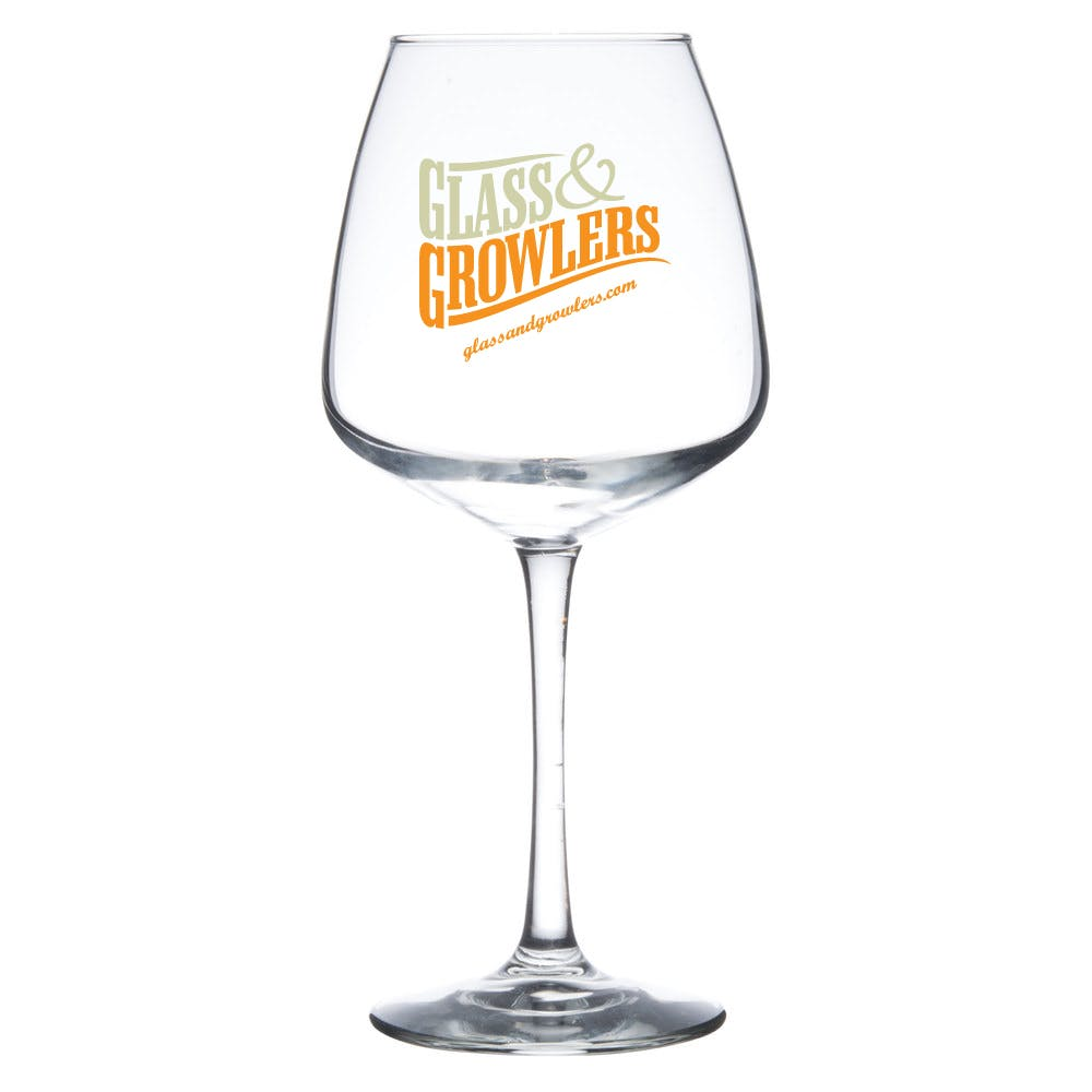 7515 Vina Diamond Balloon 18.25 oz Glass Wine glass sold by Glass and Growlers