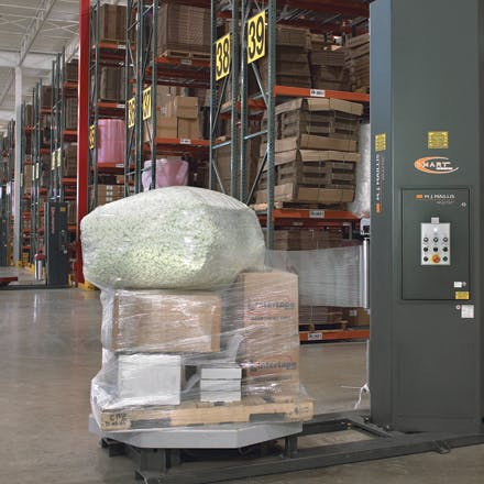 Blown Machine Stretch Film Wrap Stretch wrap sold by Ameripak, Inc.
