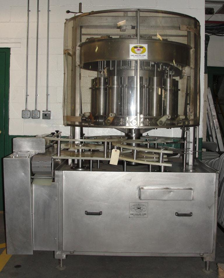 Engler rotary piston can filler Can filler sold by Special Projects International