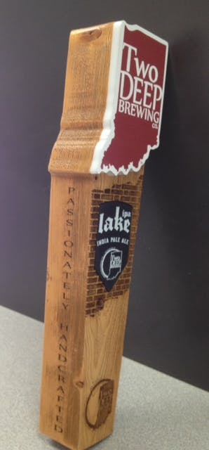 TwoDeep Tap Handle Tap handle sold by Impressive Prototypes, Llc