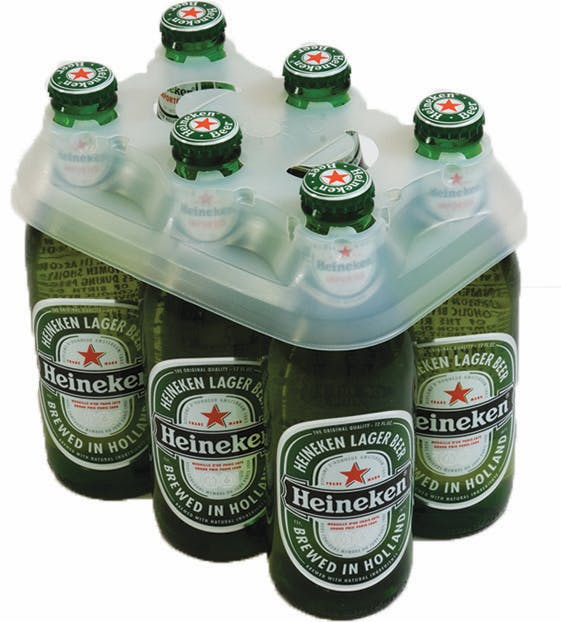 6 Pack Plastic Bottle Cappers Bottle carrier sold by Pak-it Products
