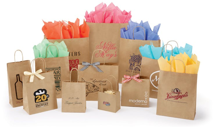 Natural Kraft Bags Bag sold by The Packaging Source, Inc.