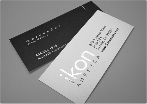 SLIM BUSINESS CARDS - sold by Meilestone