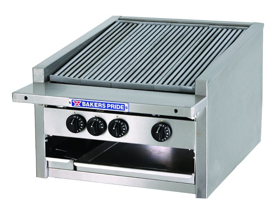 Bakers Pride L-24R Gas Charbroiler Broiler sold by pizzaovens.com