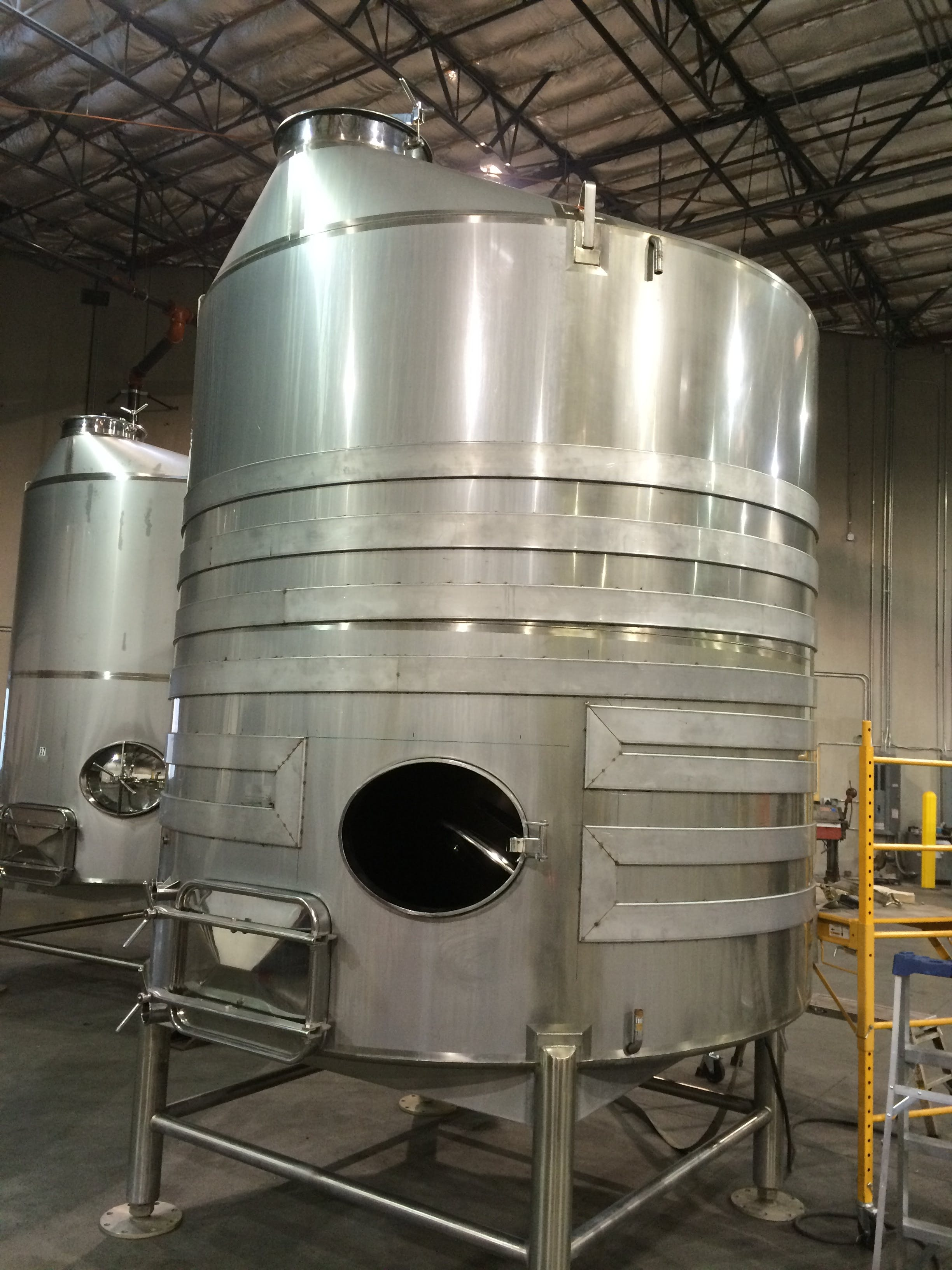 Wine Tank repair and upgrade Wine tank sold by A-Z Stainless
