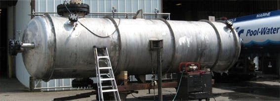 Stainless Steel Water Tanks Water tank sold by BEPeterson Inc.