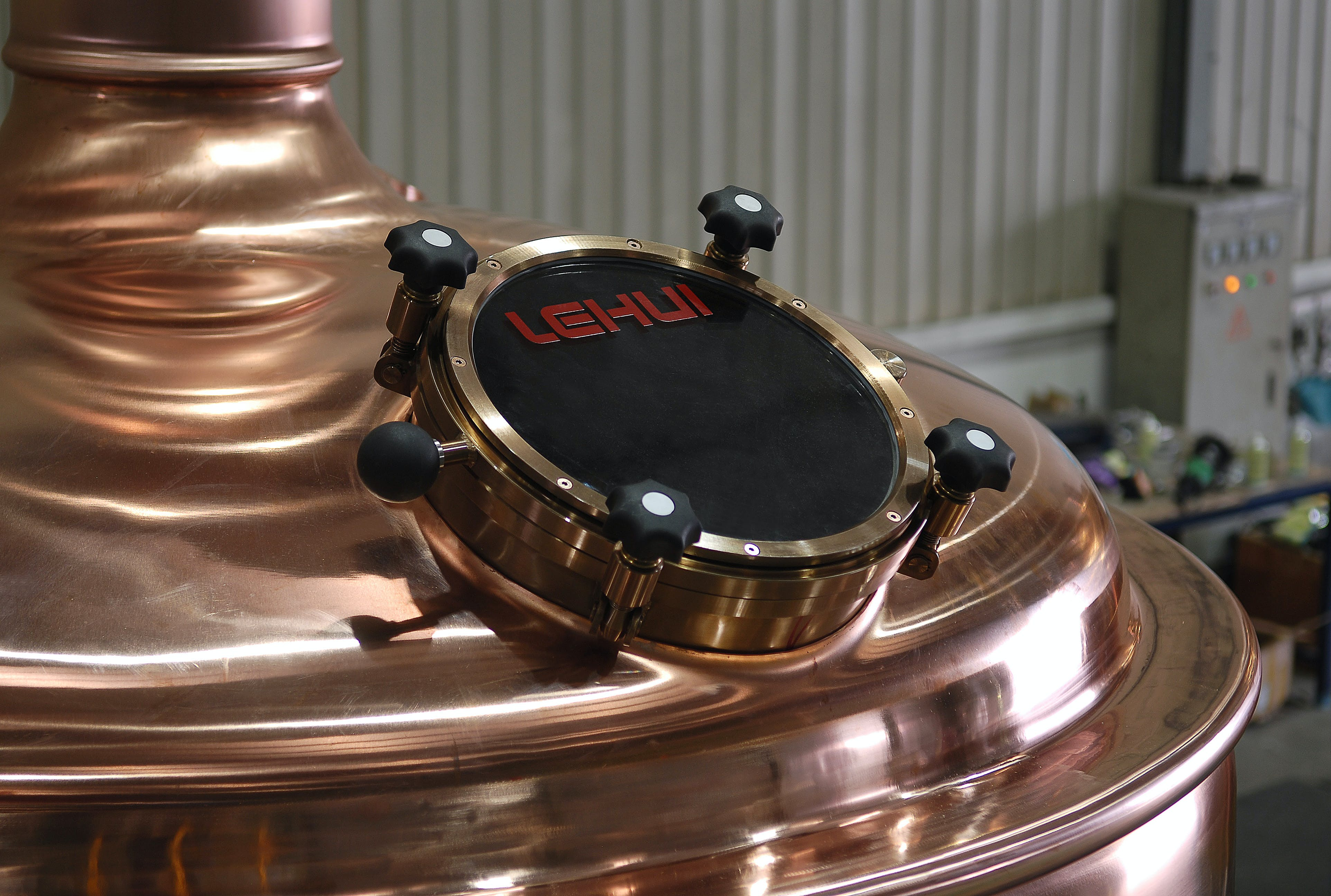 Copper Cladding Brewhouse Brewhouse sold by NDL Keg
