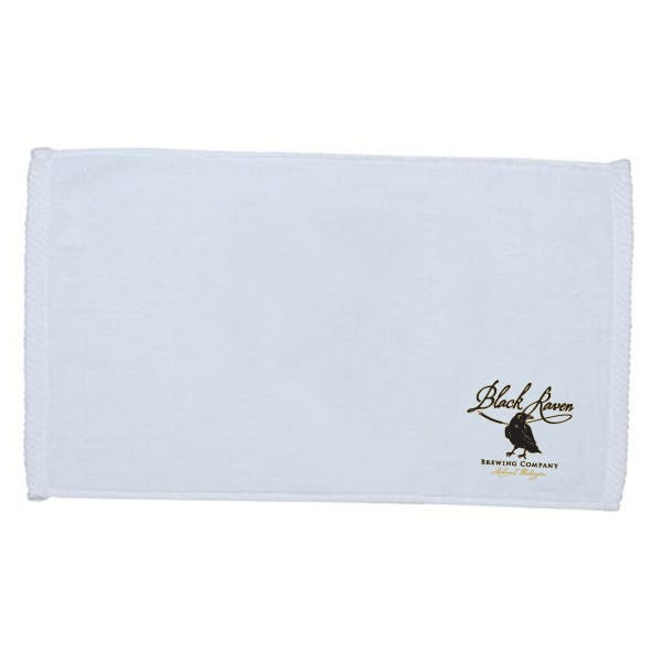 Velour Finger Tip Towel (screen-printing) Promotional product sold by MicrobrewMarketing.com