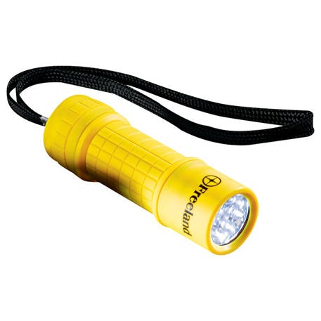 Workmate 9 LED Flashlight - K35 - 1225-55 - Leeds Promotional flashlight sold by Distrimatics, USA