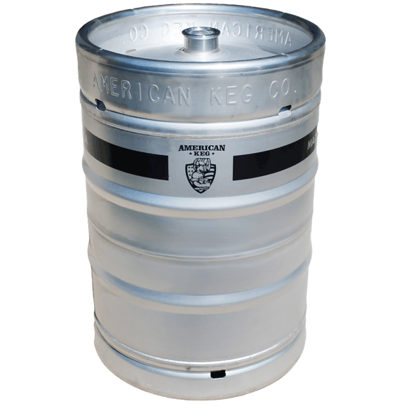 American Made 1/2 bbl Keg sold by American Keg Company