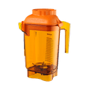 Vitamix 58990 Color Coded 48 oz. Advance Container with Blade Assembly | Orange - Blender sold by Prima Supply