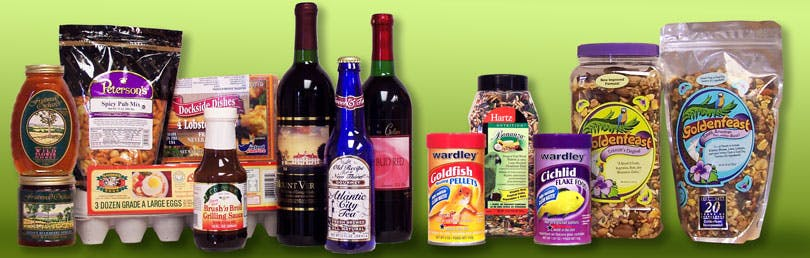 Bottle labels - sold by Valley Forge Tape and Label