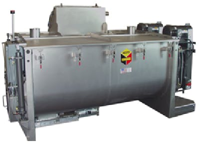 Mixers Custom industrial mixer sold by Peak Equipment