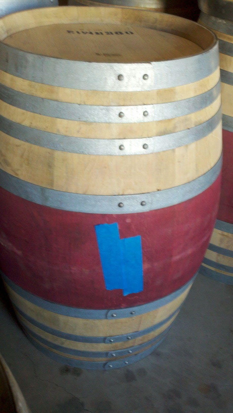 Neutral Red Wine Barrels!  Wine barrel sold by Quality Wine Barrels
