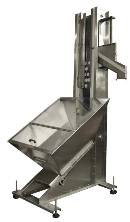 Capp Sorting Elevator Bottle capper sold by E-PAK Machinery, Inc.