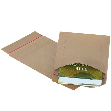 Jiffy Rigi Bag Kraft Mailers Kraft packaging sold by Ameripak, Inc.