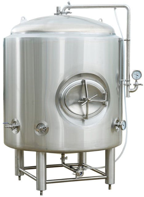 20bbl Brite Tank - J/I Bright tank sold by Craft Kettle Brewing Equipment
