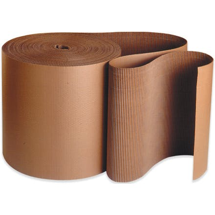 Kraft Singleface Corrugated Kraft packaging sold by Ameripak, Inc.
