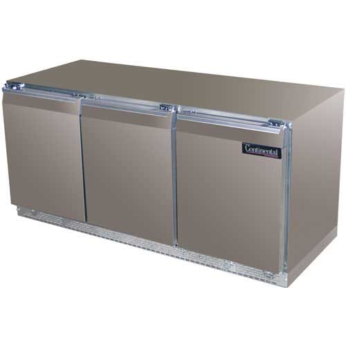 "Continental Refrigerator - DLUC72-SS 72"" Undercounter Refrigerator Commercial refrigerator sold by Food Service Warehouse"