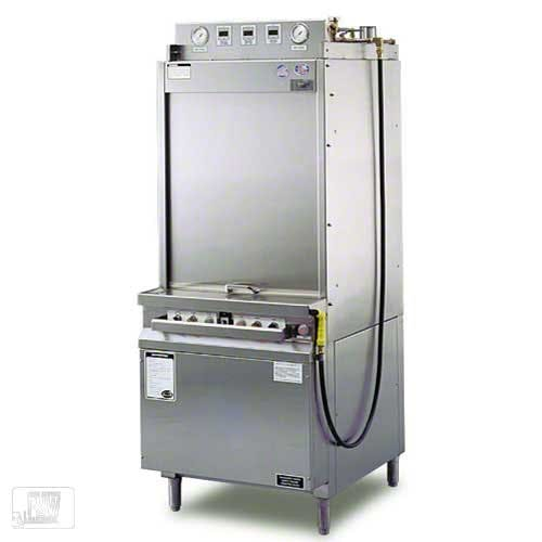 Insinger - SW-12-F 12 Rack/Hr Front Load Pot and Pan Washer Commercial dishwasher sold by Food Service Warehouse