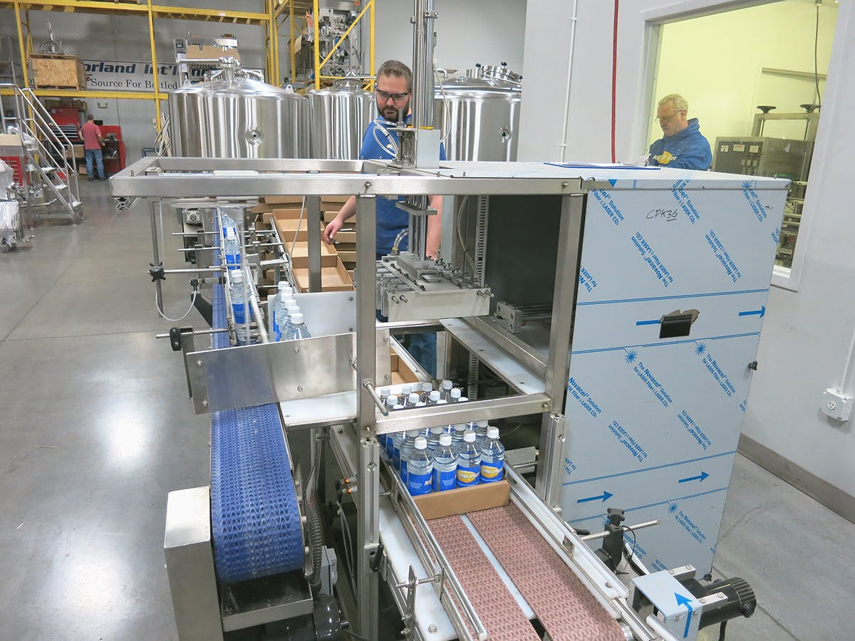 CasePak Case packer sold by American Beer Equipment