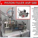 ASP-500 Single Head Electric & Air Piston Filler /Fills Liquid, Oil, Gel - E-liquid bottle sold by Pro Fill Equipment