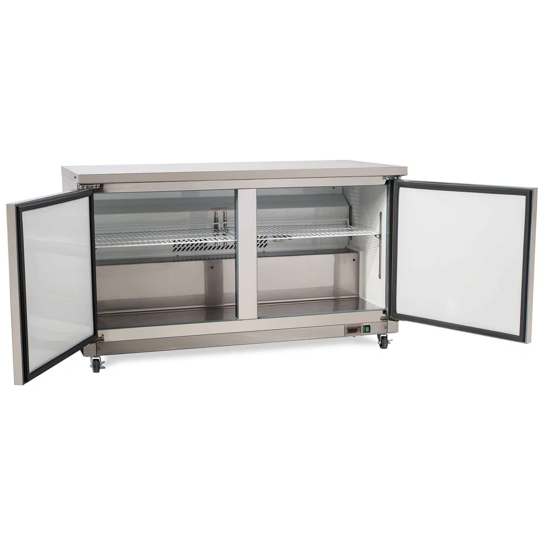 "Saturn Equipment ( PUC60F ) - 61"" Undercounter Freezer - Value Series - sold by Food Service Warehouse"