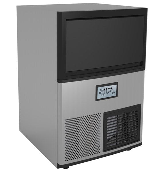 Valpro VPIM85 - 85 lbs. Full Cube Ice Maker - Under-counter - Air Cooled