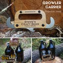 Growler Carrier - Tap handle sold by Custom Brew Gear