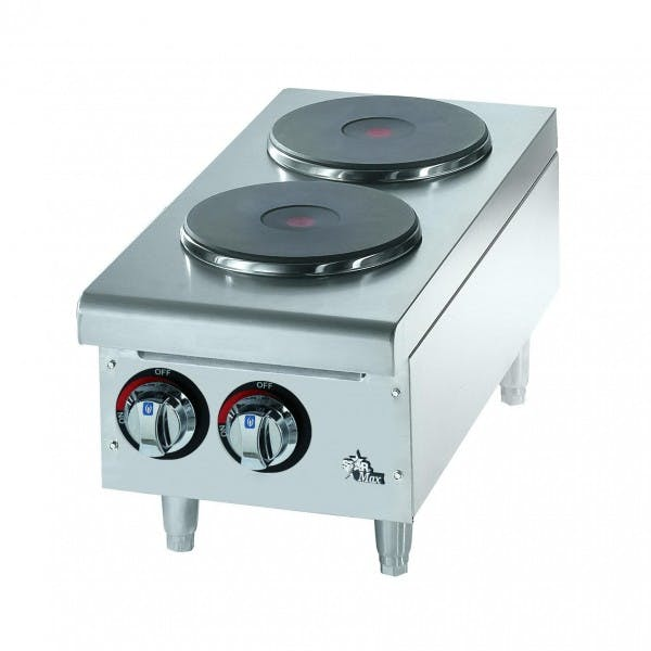 Star-Max® 2 Sealed Burner Electric Hotplate