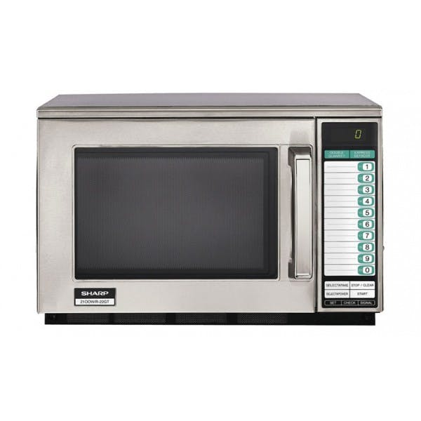 1200w Heavy Duty Stainless Microwave Oven