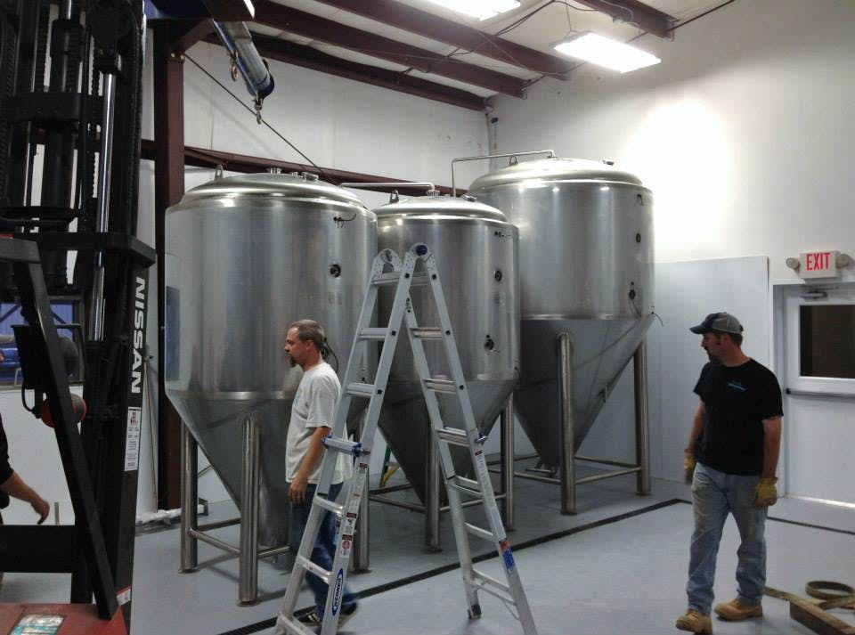 Mispillion River Brewing Fermenter sold by Minnetonka Brewing & Equipment Company