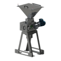 6x6 Single Pair Malt Mill - Grain roller mill sold by Roller Mill Services