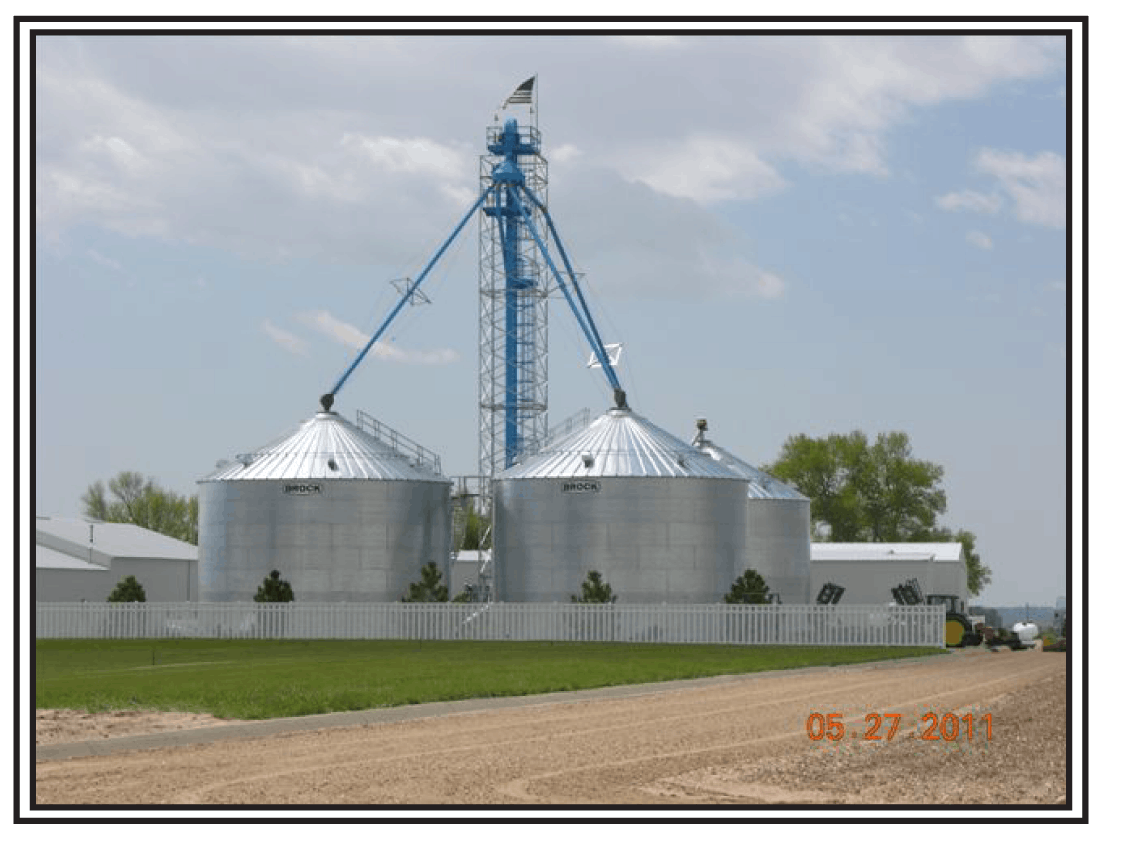 Fagerberg Product Grain bin sold by LCSI Group