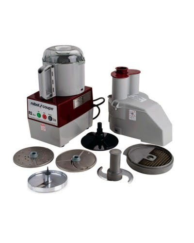 ROBOT COUPE R2DICE CONTINUOUS FEED 3 QUART COMBINATION FOOD PROCESSOR / DICER Food processor sold by NJ Restaurant Equipment