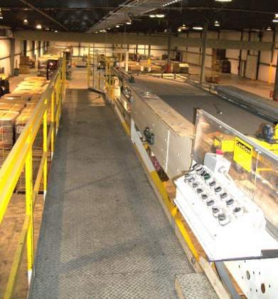 Used Kleenline Depalletizer Double High 48 x 40 Pallets - sold by Sigma Packaging